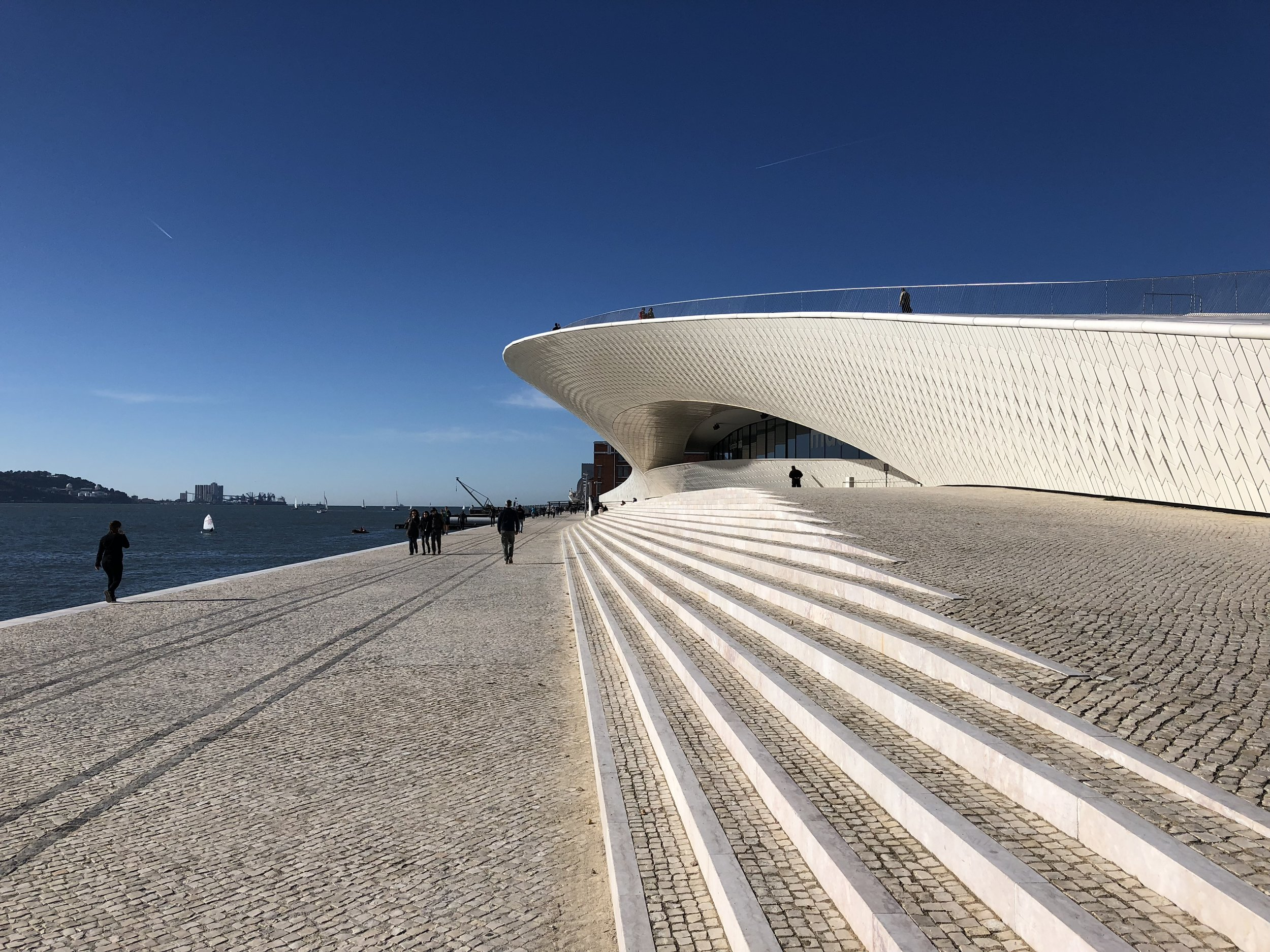 Stop by the new MAAT museum, also on the way to Belem!