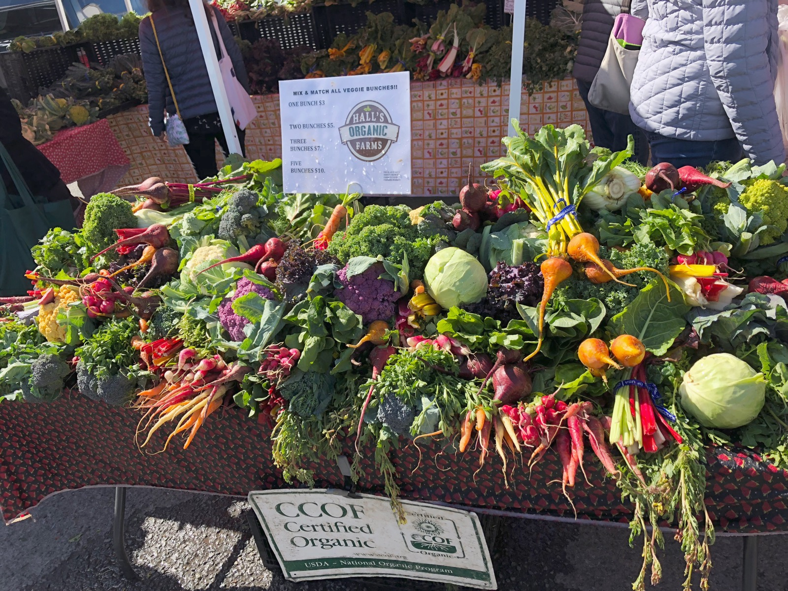 Mindful eating starts with your ingredients, and there's no better way to nourish yourself than with local farmers market fare.
