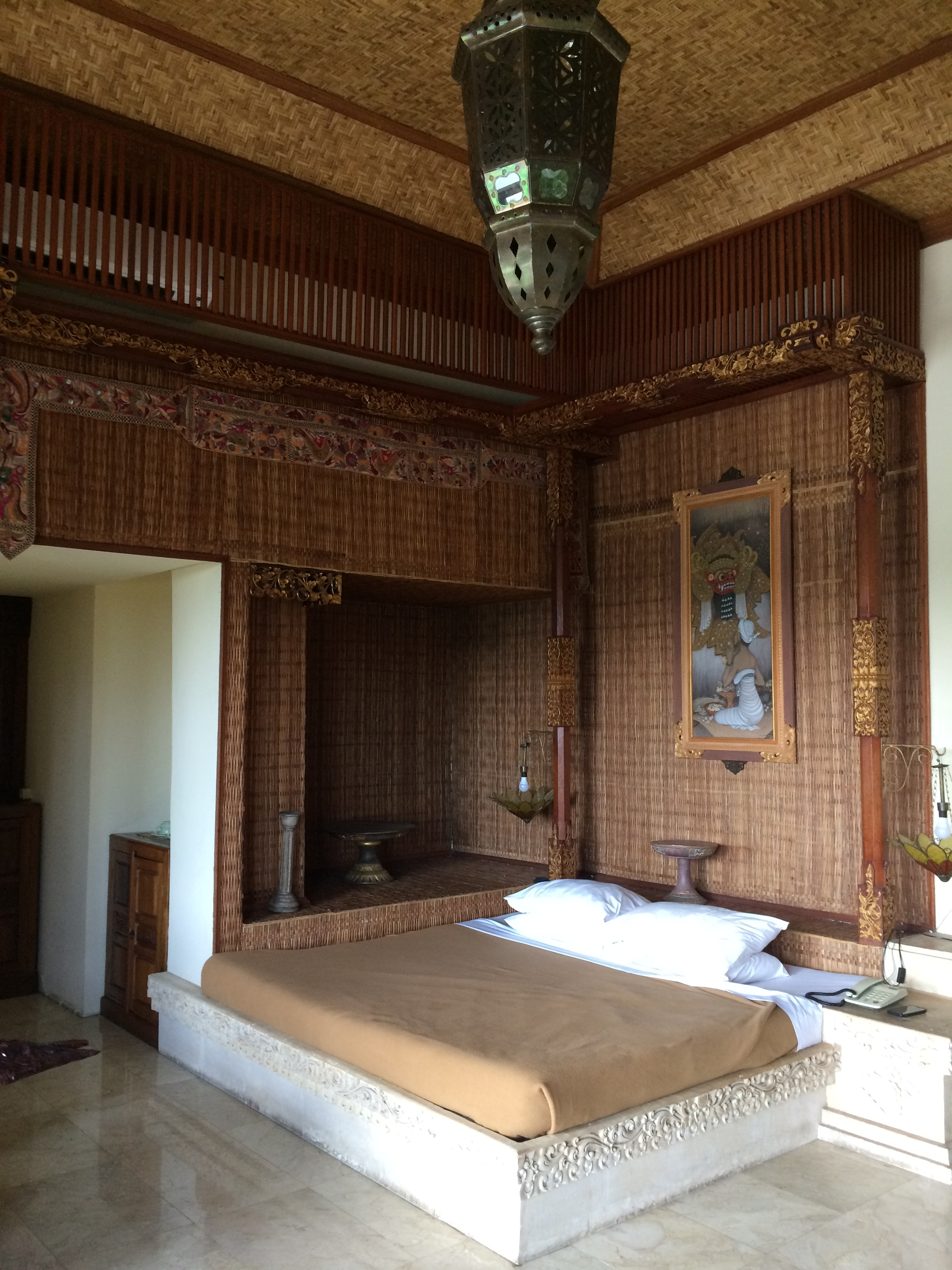 Our palace in Ubud.