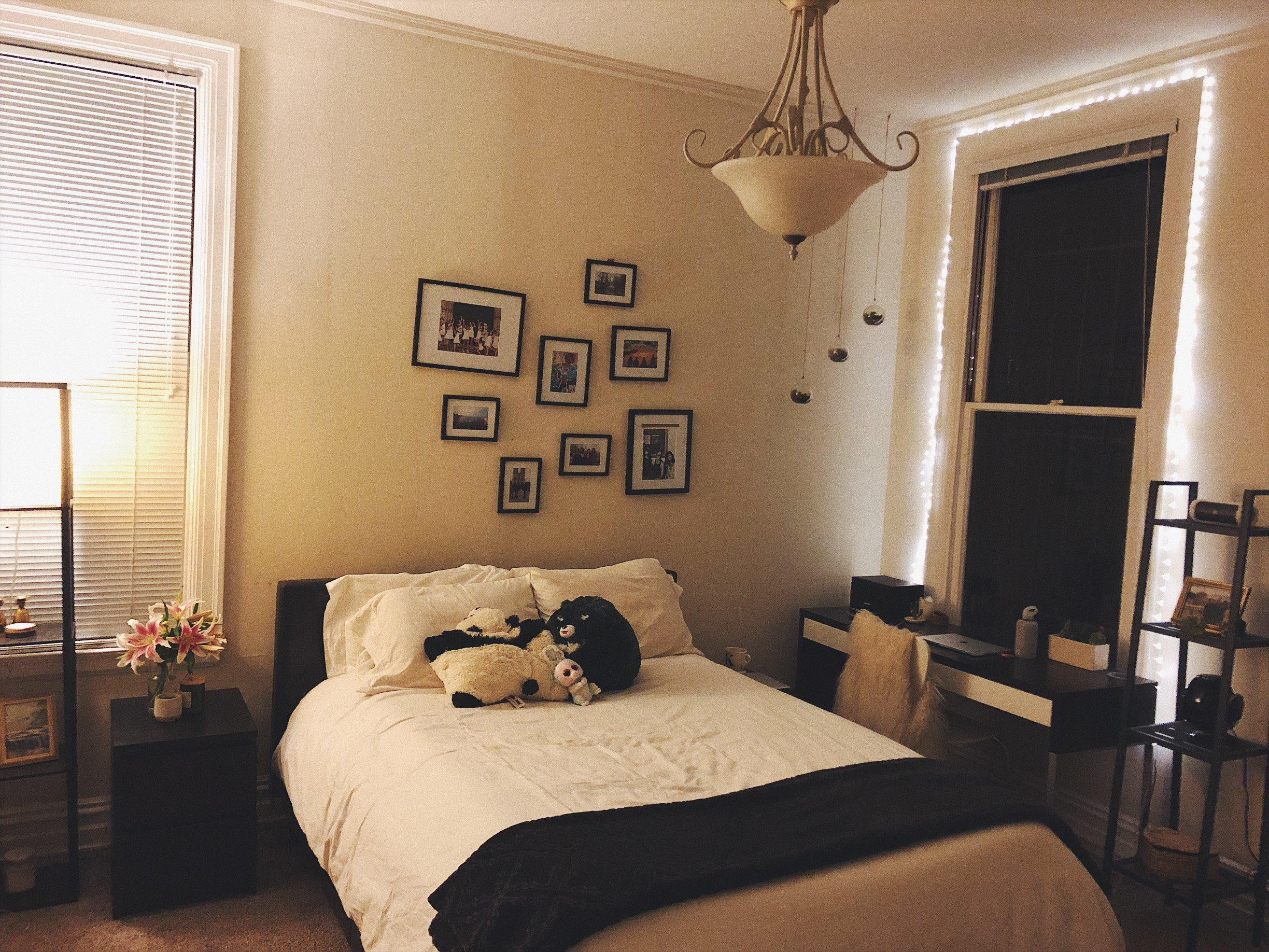 I've invested in making the bedroom my happiest place :)