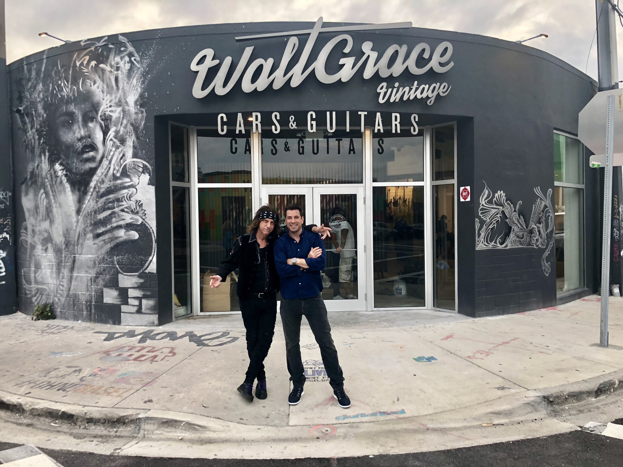 THE ORIGINAL ARTWORK OF WEISSGUY & LACY IS NOW ON DISPLAY IN THE WYNWOOD SECTION OF MIAMI AT WALT GRACE VINTAGE, LOCATED AT 300 NW 26TH STREET.