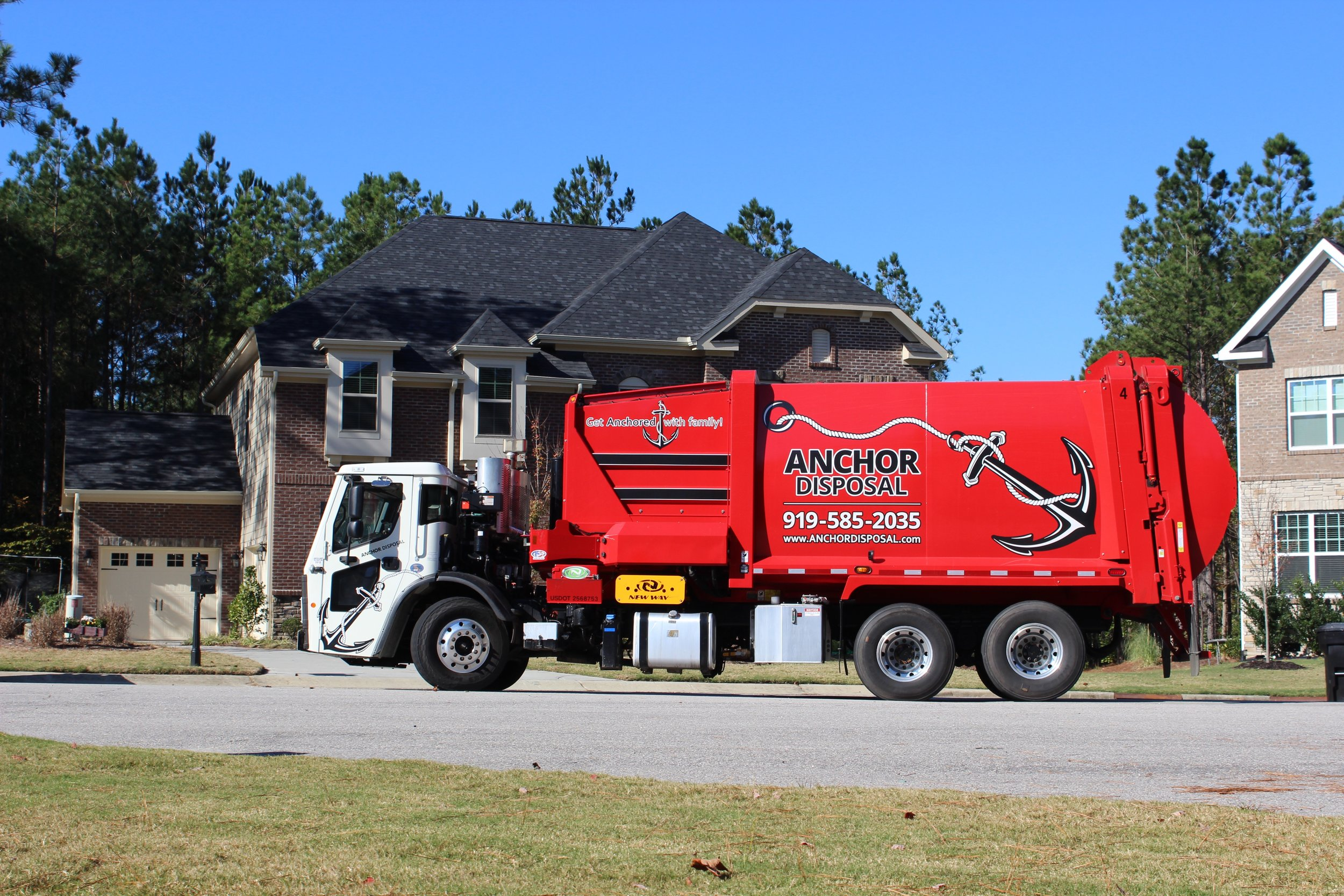 Residential Trash Pick-Up   919-585-2035    Contact Us