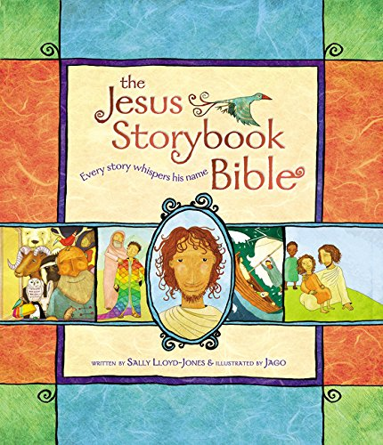 On Friday April 12th I will be picking one random e-mail address to gift the Jesus Story Book Bible to. You will receive it just in time for Easter. Don't be mistaken in thinking this version is just for little kids. These have been used by all ages across the world! They have been used by business men in foreign countries before meetings and during prayer time. Missionaries pass them out to new believers as well!