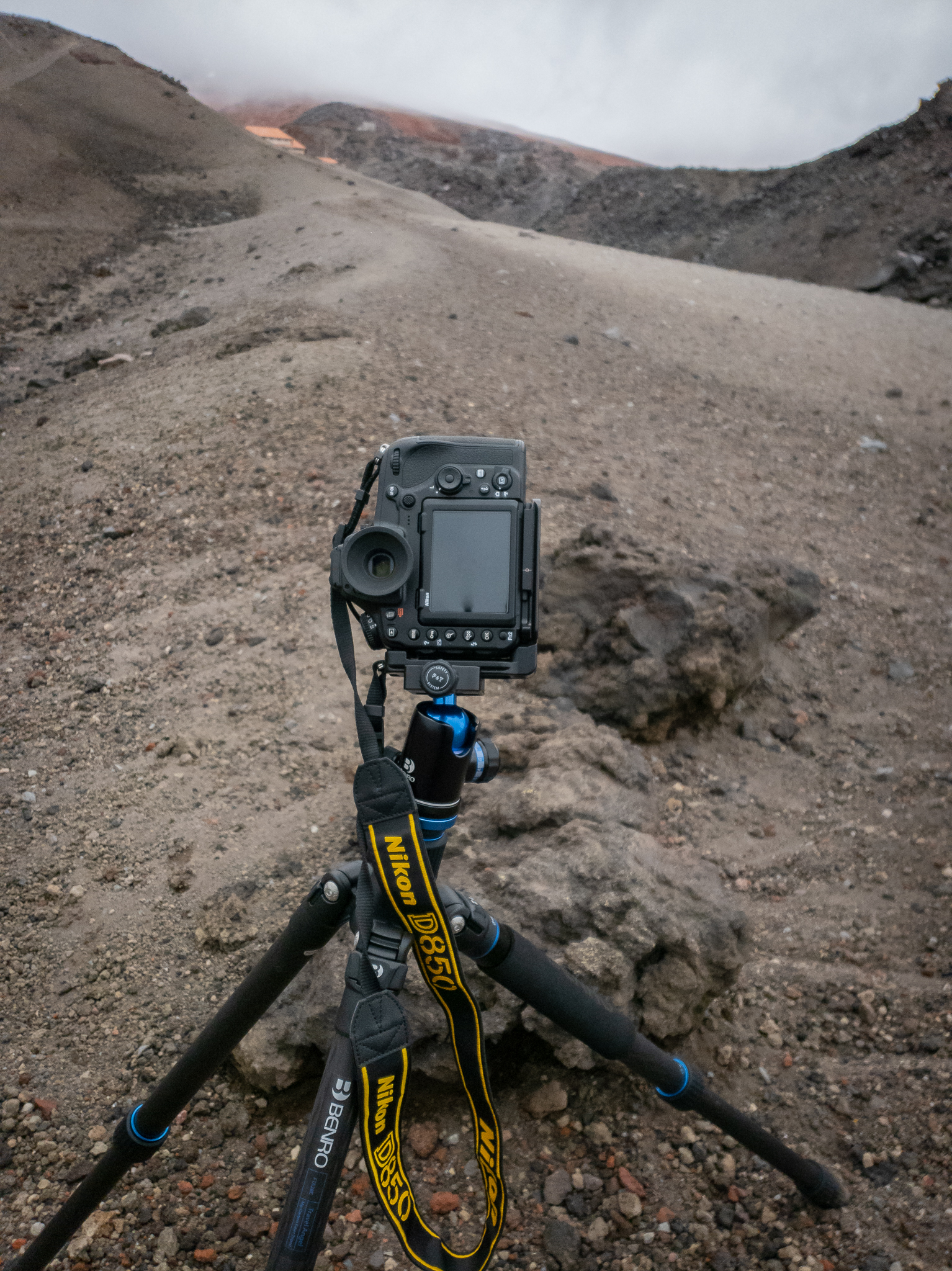 The D850 in action on Cotopaxi volcano, Ecuador. Rain, snow, sleet, high winds and volcanic dust: No problem! Lava? There would be bigger issues.
