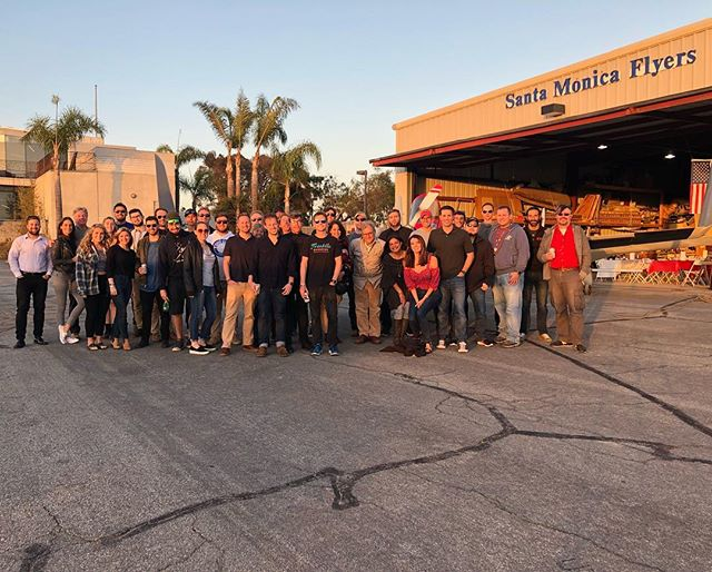 Thank you to all the people that joined our Santa Monica airport barbecue tonight.