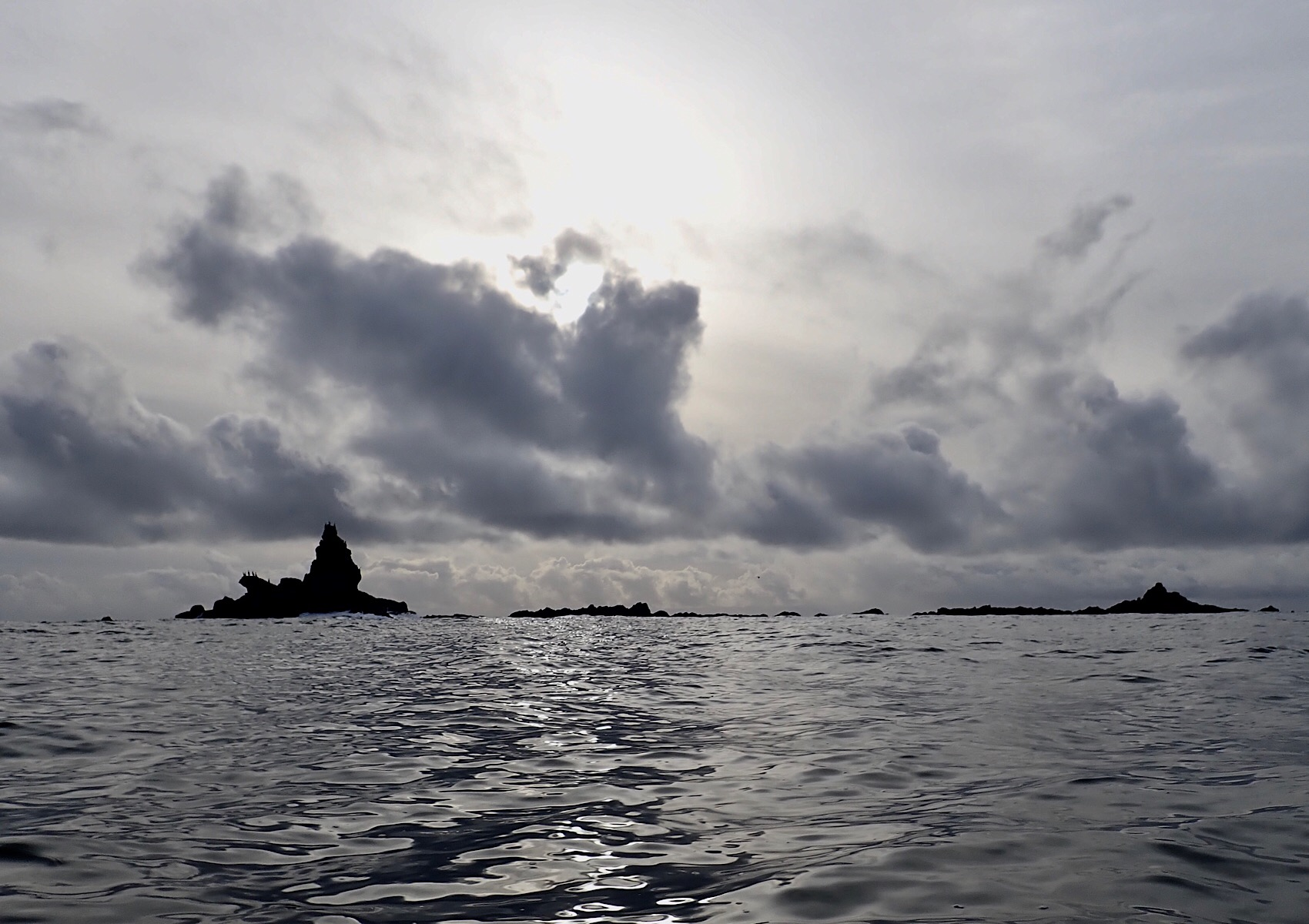 Barrier rocks on the way to Kyuquot