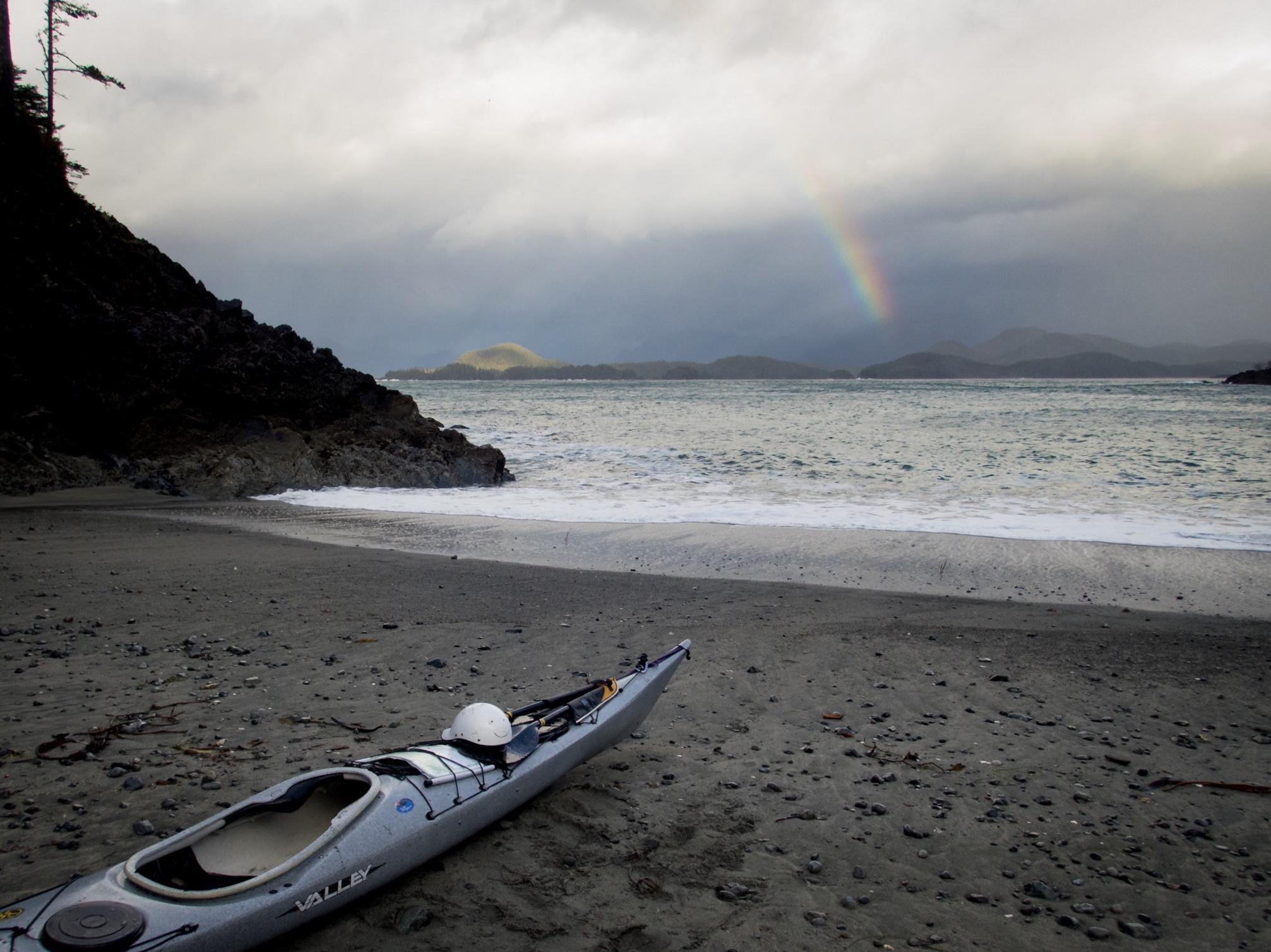 Rainbow over Bligh Island