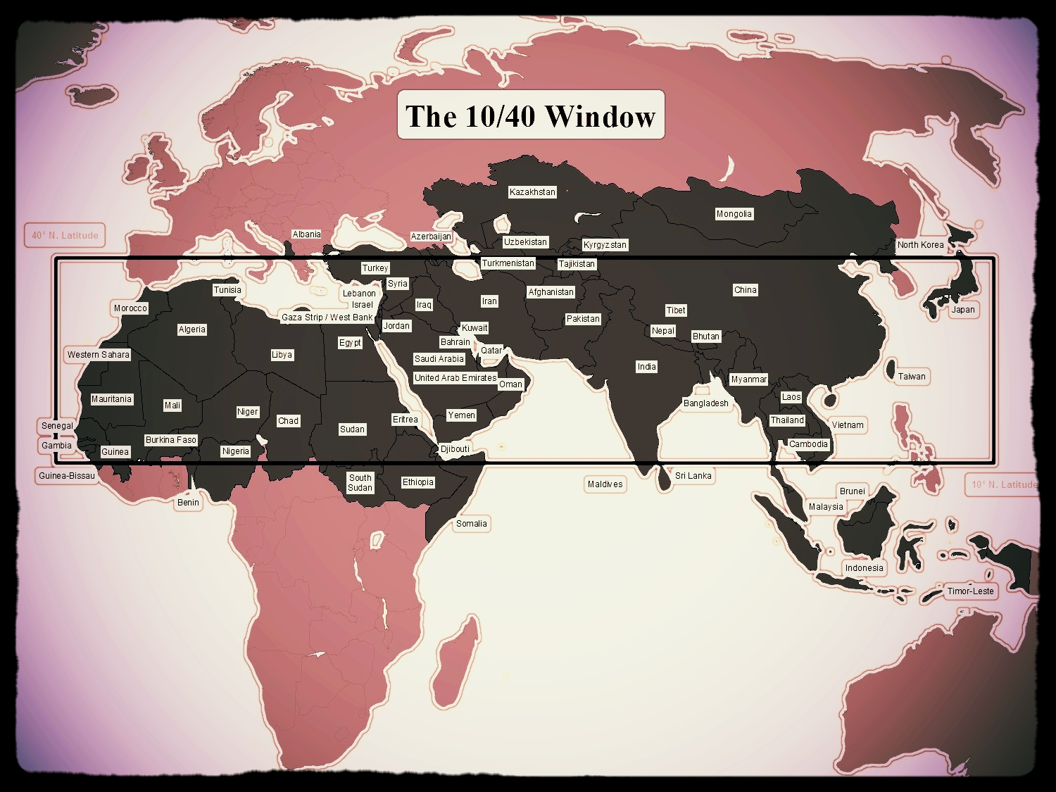 make disciples...of all nations -