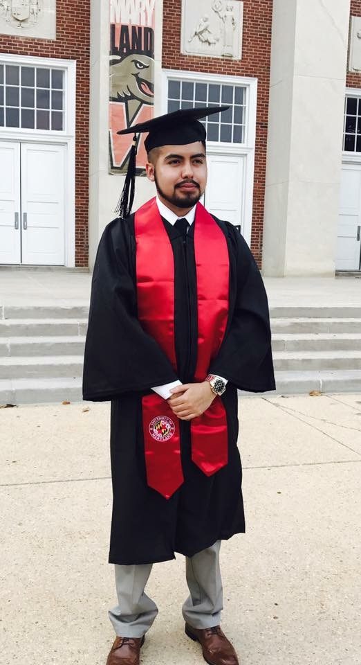 Edwin graduated from UMD in 2017.