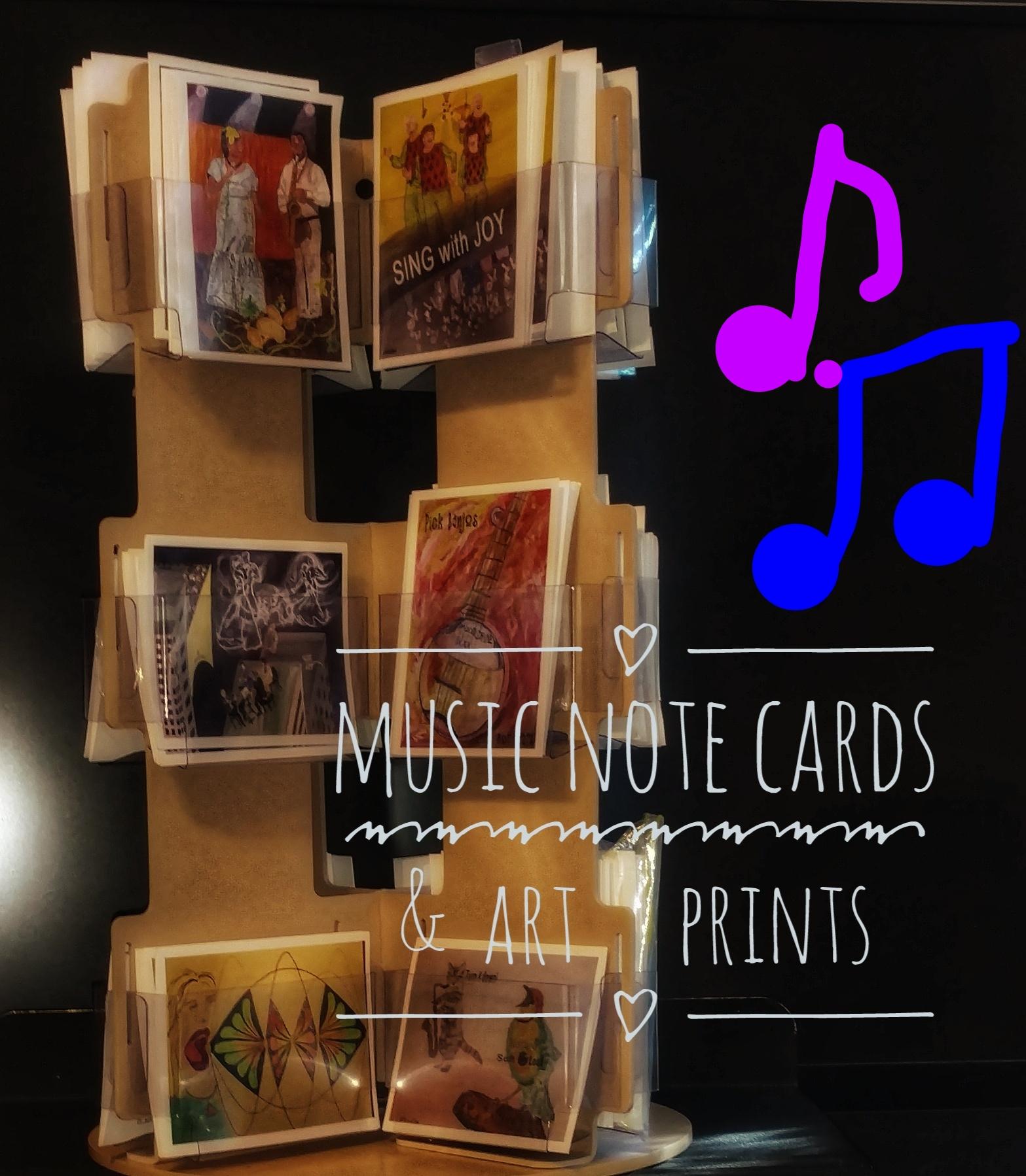 Music Lesson Card Art