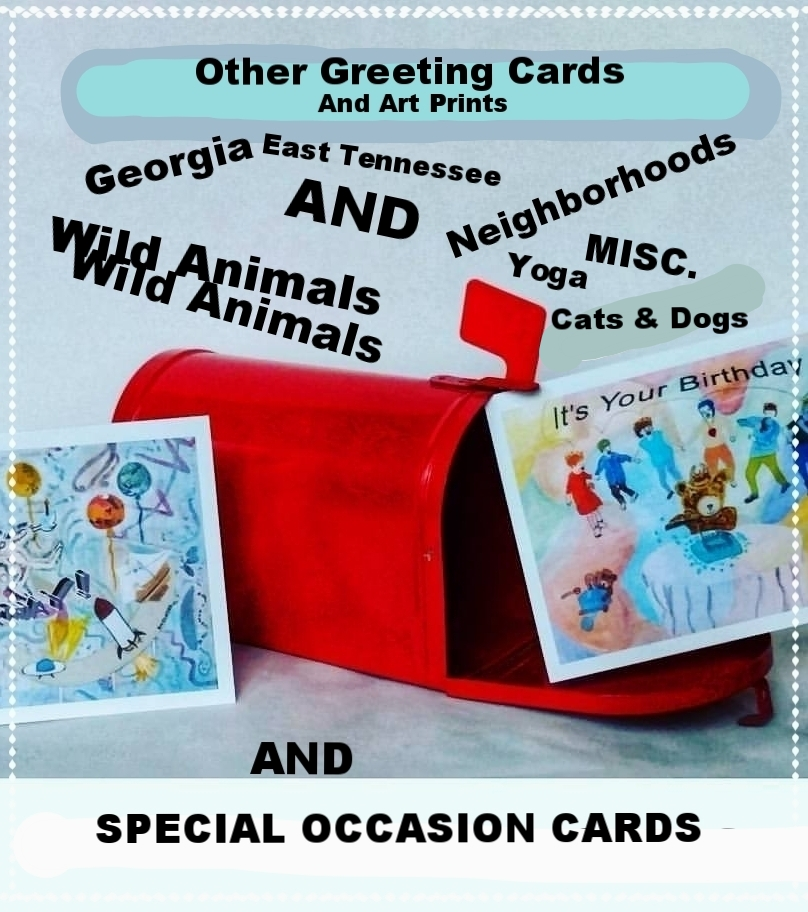 East Tennessee Art and Birthday and Occasion Art Cards