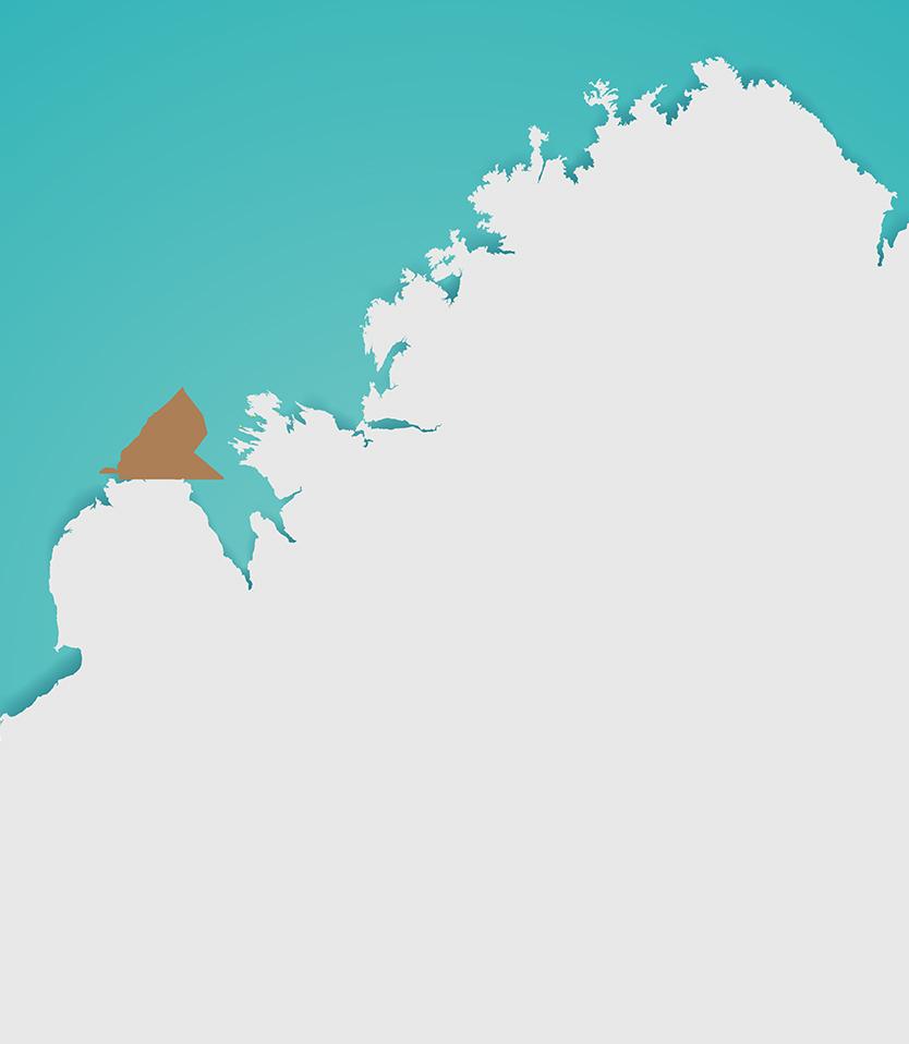 Bardi Jawi Ranger Map