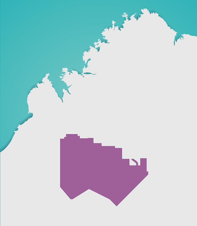 Ngurrara Ranger Map