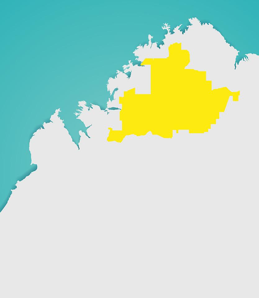 Wunggurr Ranger Map