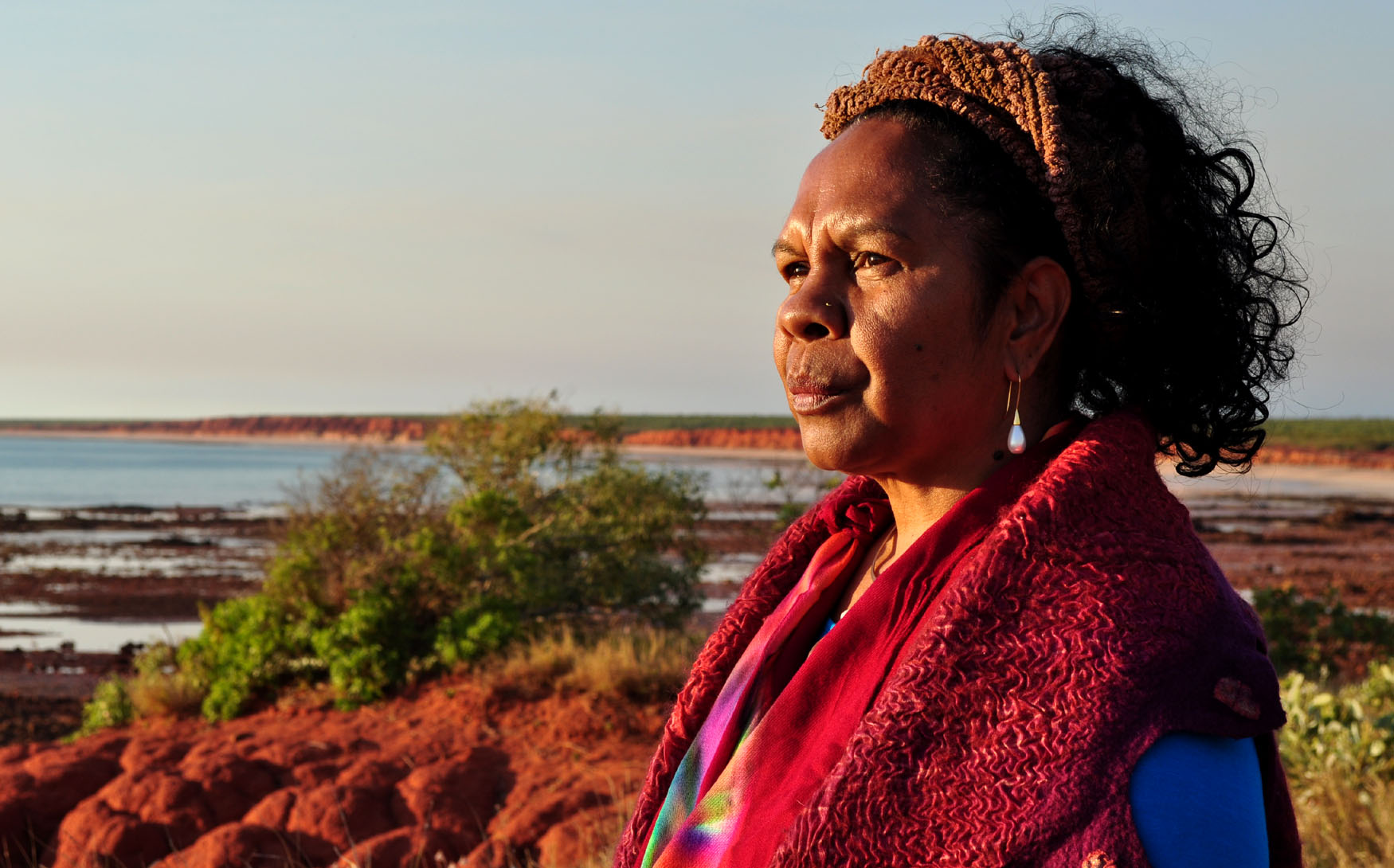 Dr Anne Poelina, Nyikina woman and Martuwarra Fitzroy River Council member.