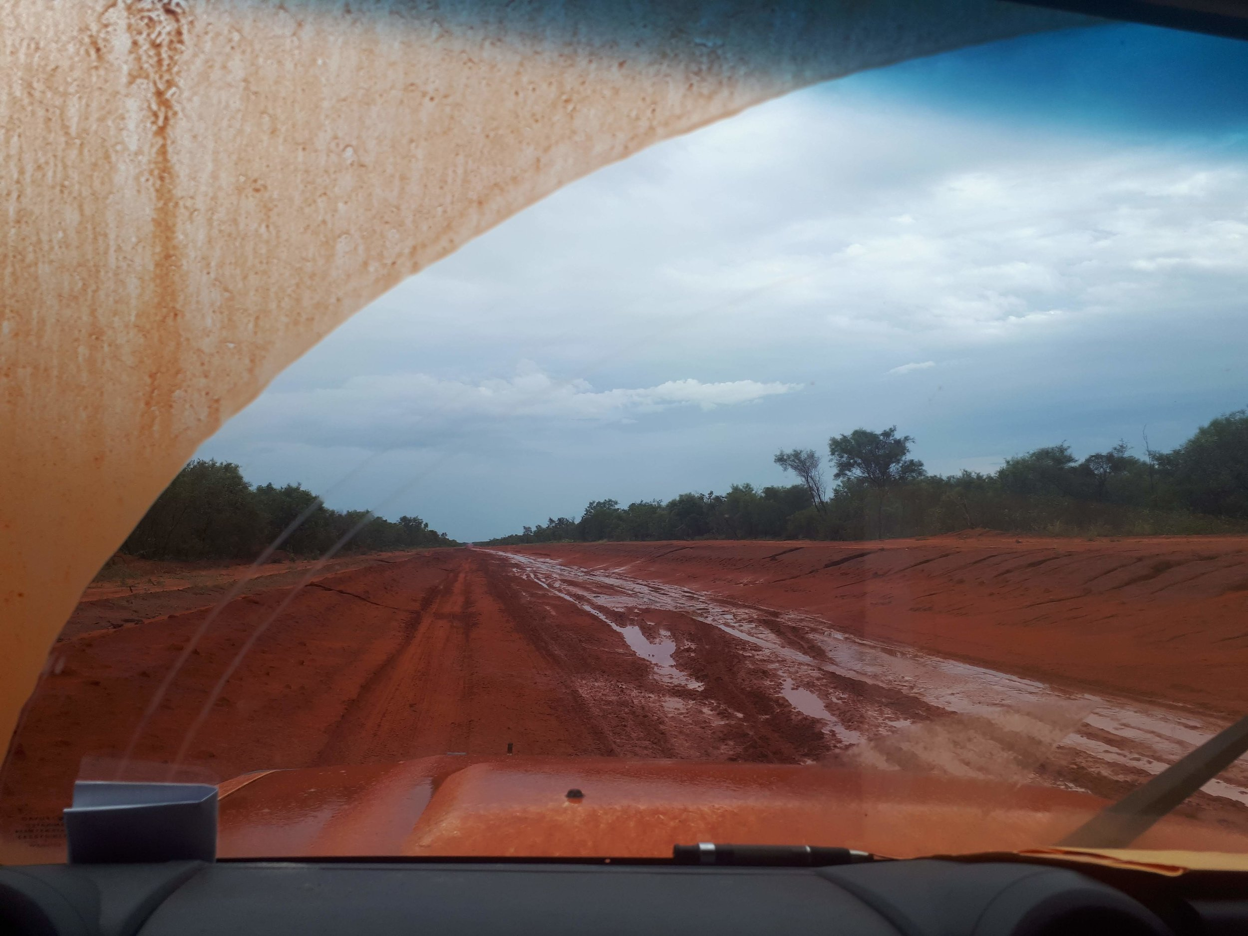 The Cape Leveque Road on the Dampier Peninsula is in the process of being sealed.