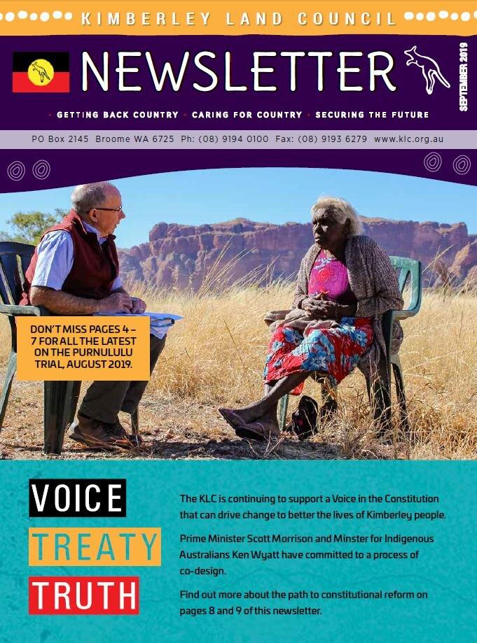 Newsletter Sept 2019