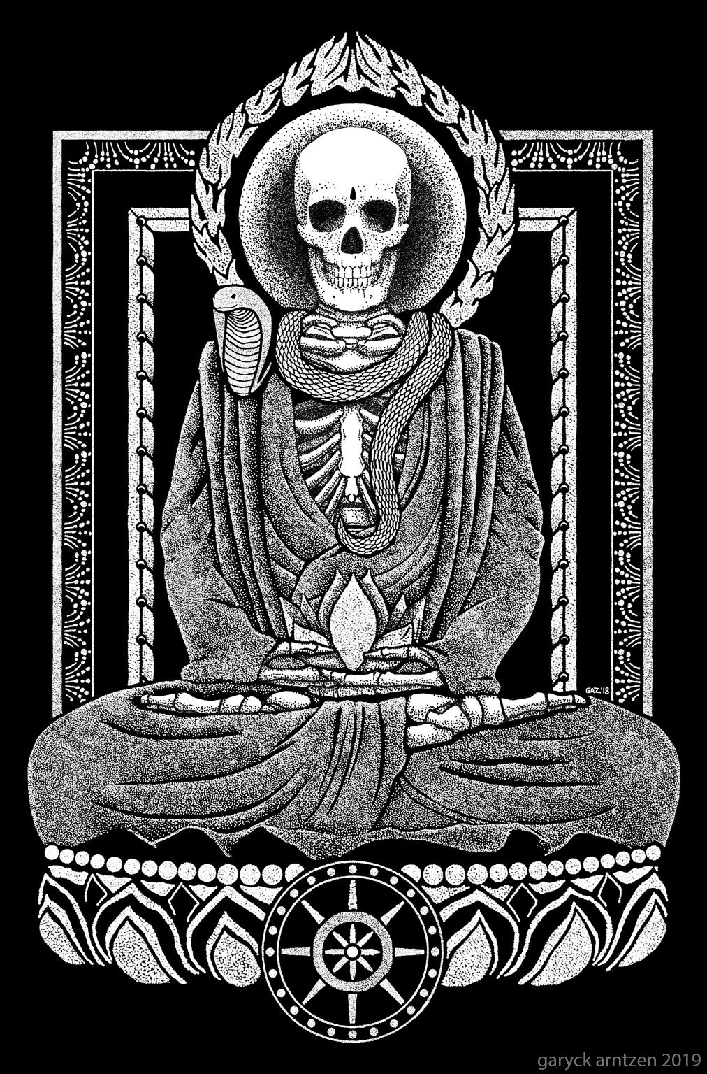 Gautama Buddha and Mucalinda