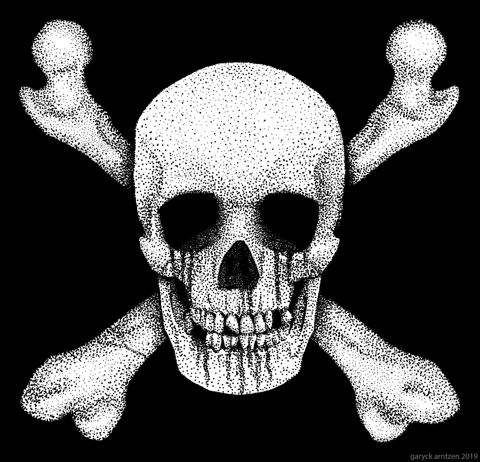 Jolly Roger Stippling
