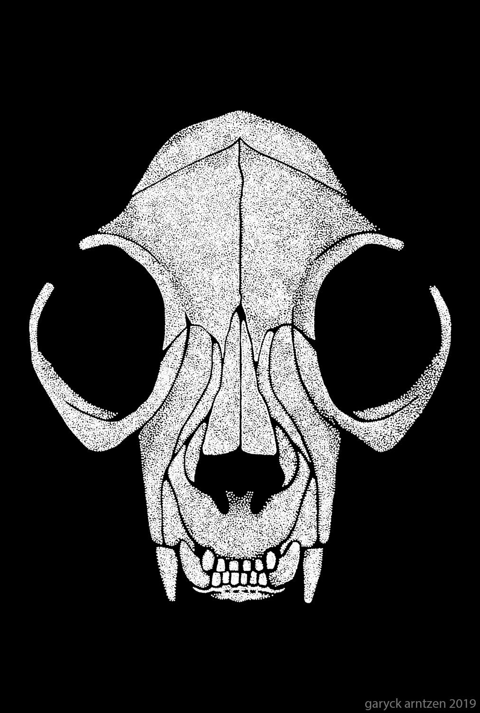 Felis Mortis Cat Skull