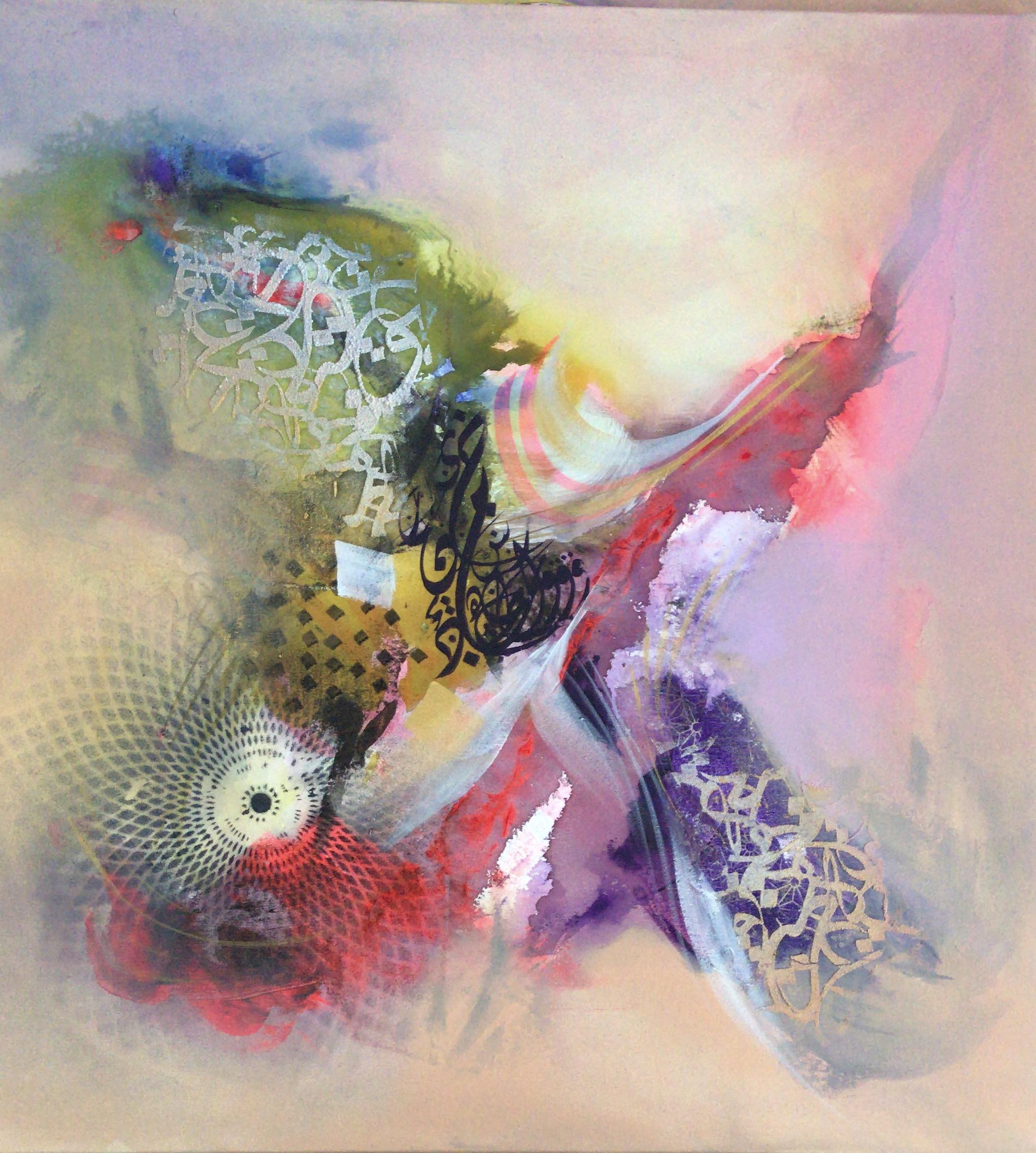 Size: 80 x 80  Medium: Acrylic on Canvas  Price: 2000 AED
