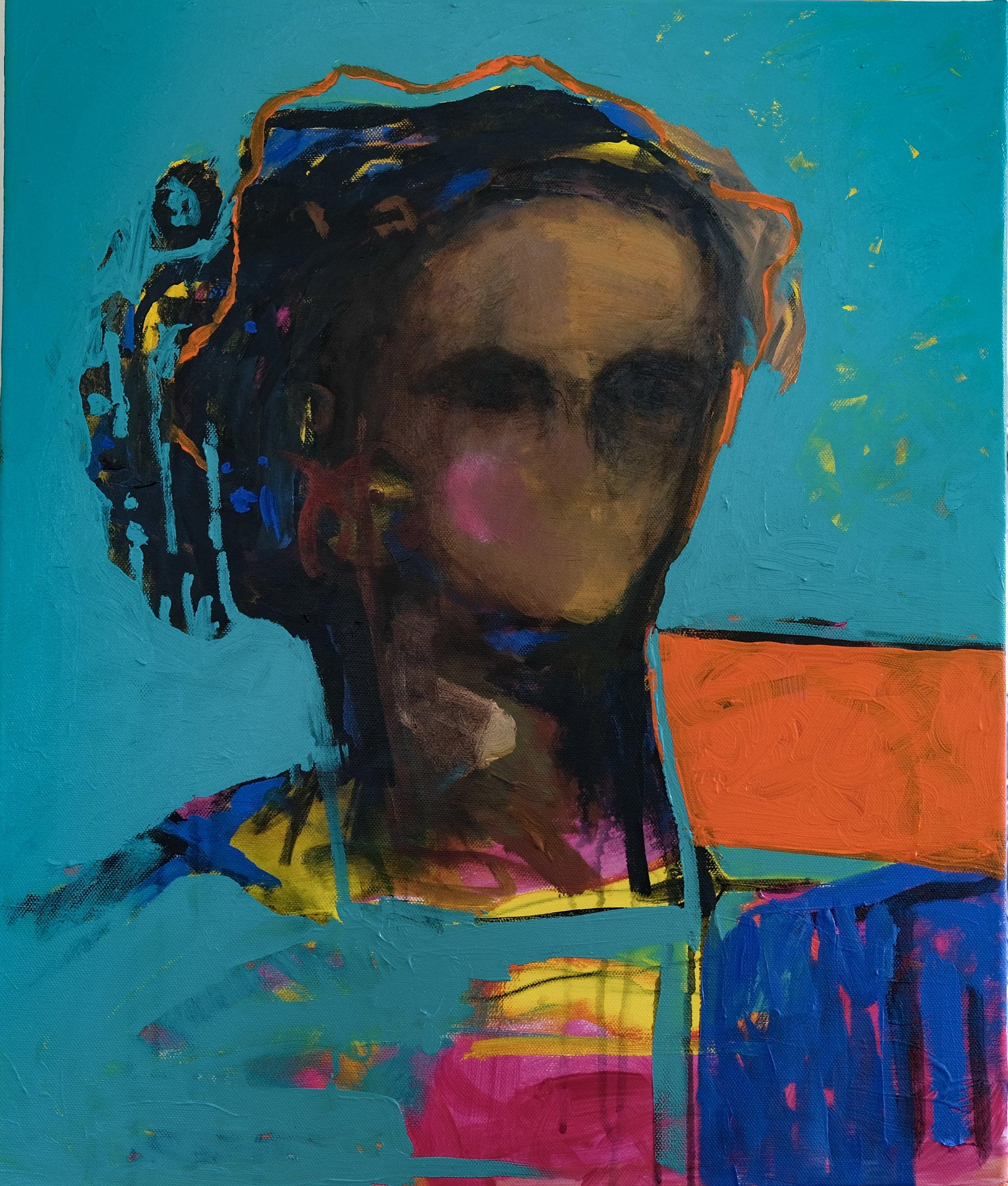 Size: 40*69  Medium: Acrylic on Canvas  Price: SOLD