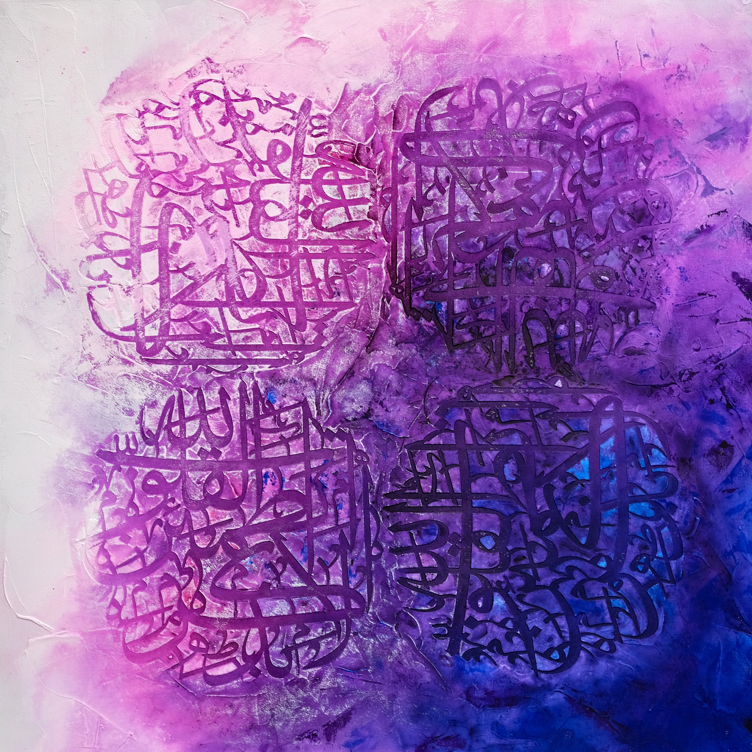 Size: 70 x 70  Medium: Acrylic on Canvas  Price:  SOLD