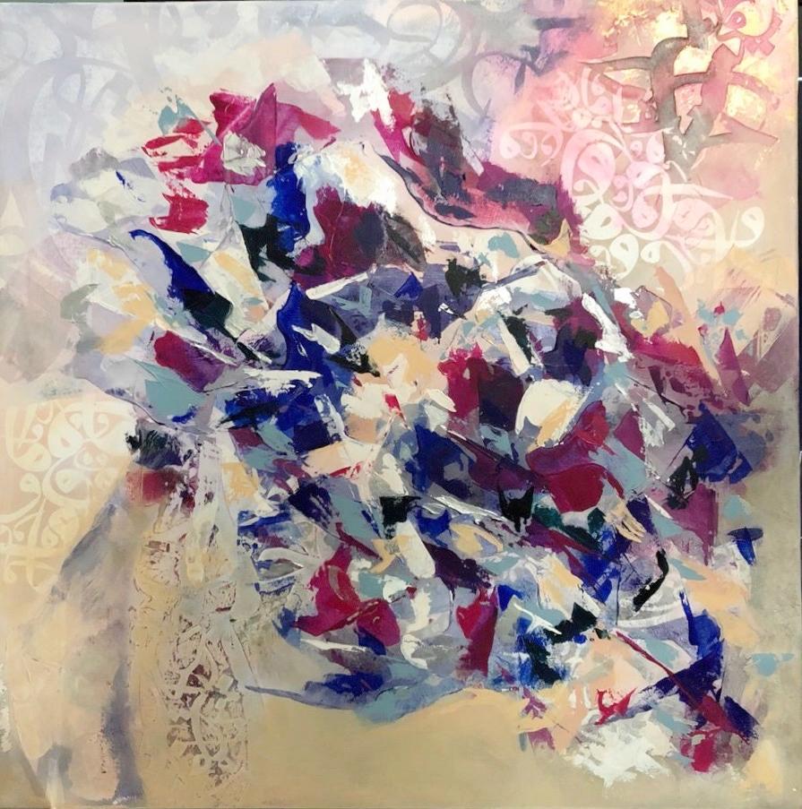 Size: 80*80  Medium: Acrylic on Canvas  Price: SOLD