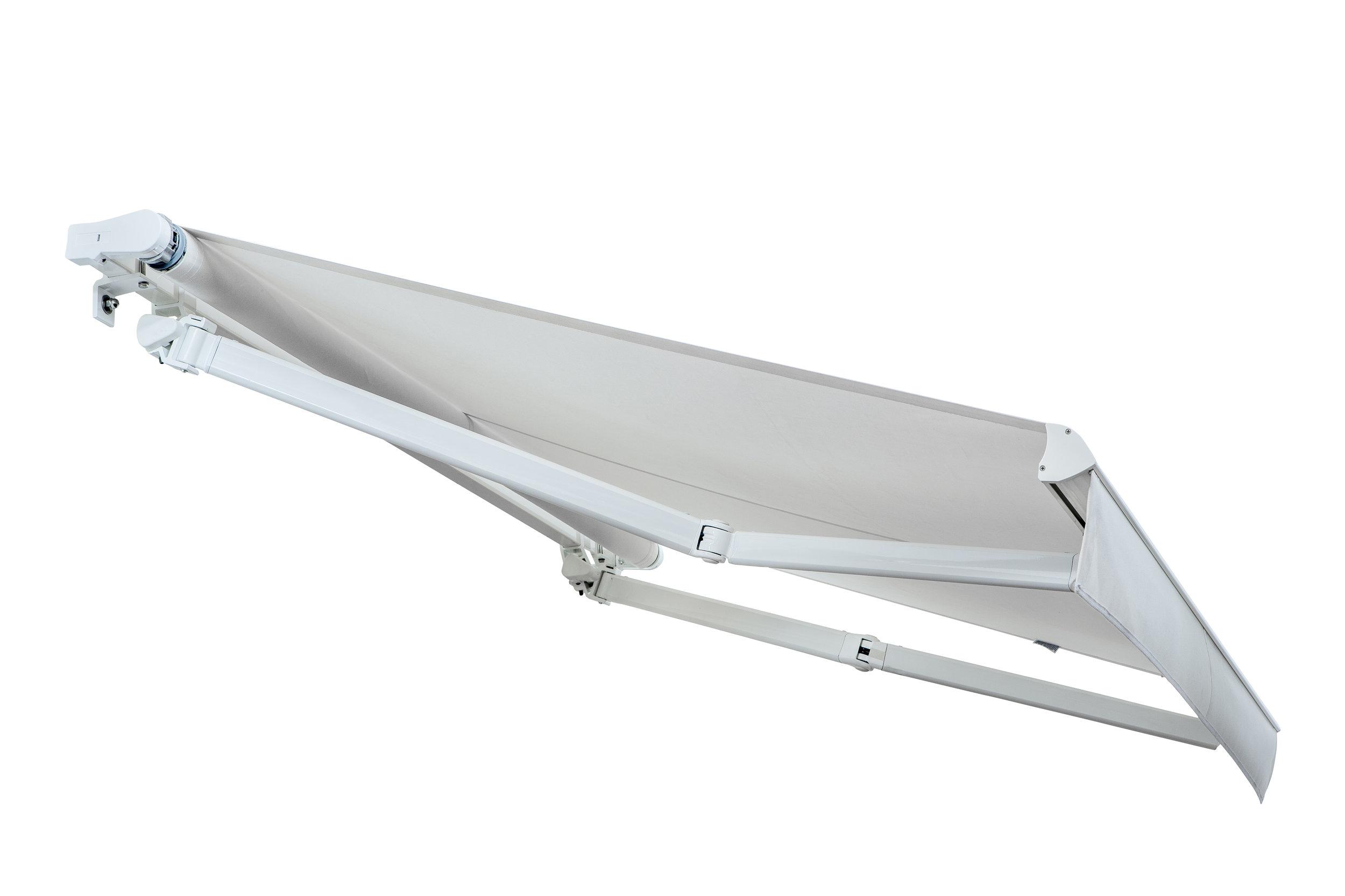 COMPACT LINE - - Tenda su barra quadra dal design compatto- Ideale per qualsiasi soluzione ambientale- Dimensione max (L) 1200 cm x (Sp) 300cm