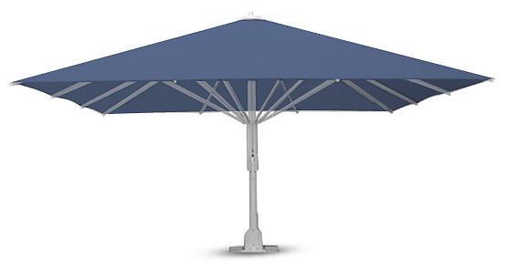 JUMBRELLA®CXL - - Apertura e chiusura semplificata- Sopportazione al vento di oltre 80km/h- Copertura fino a 36 m²