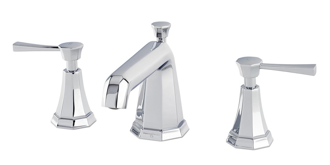 Perrin-and-Rowe Deco three-hole basin mixer with 7″ spout and lever handles 31411.jpg