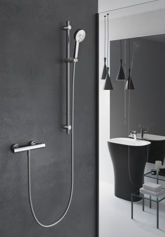 Gut gemocht Hansgrohe Croma Select E Vario Combi Shower Set — Waterloo Bathrooms AU34