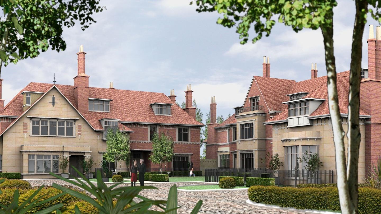 Shrewsbury Road Housing Developments (seven houses)