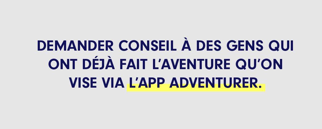 Appli Adventurer