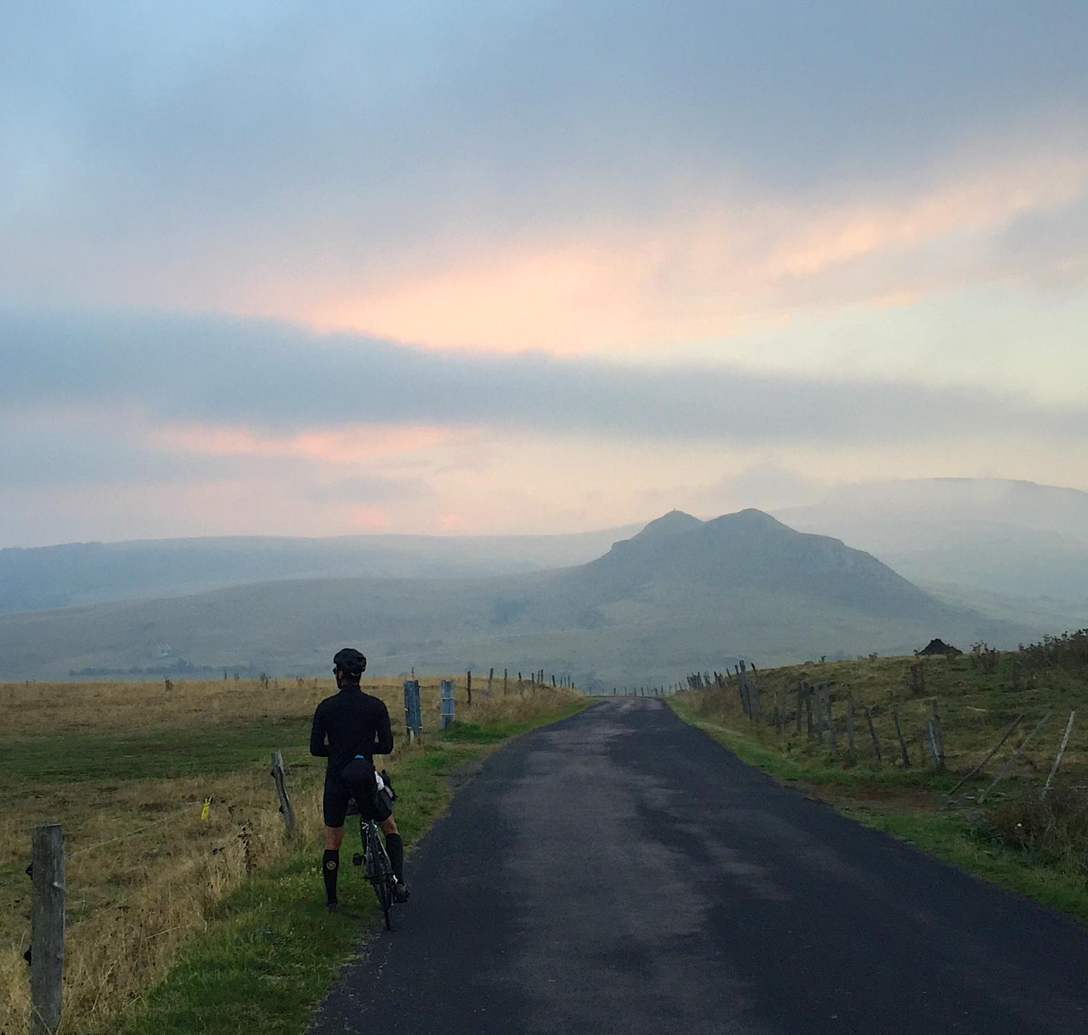 Traversée volcans d'Auvergne en bikepacking