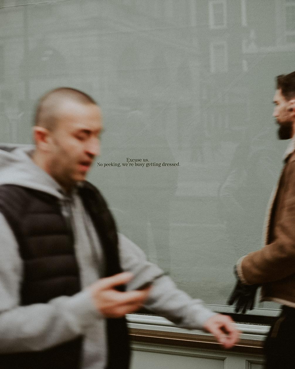 London Hustle. - Shot on Portra 160, Mamiya 645.