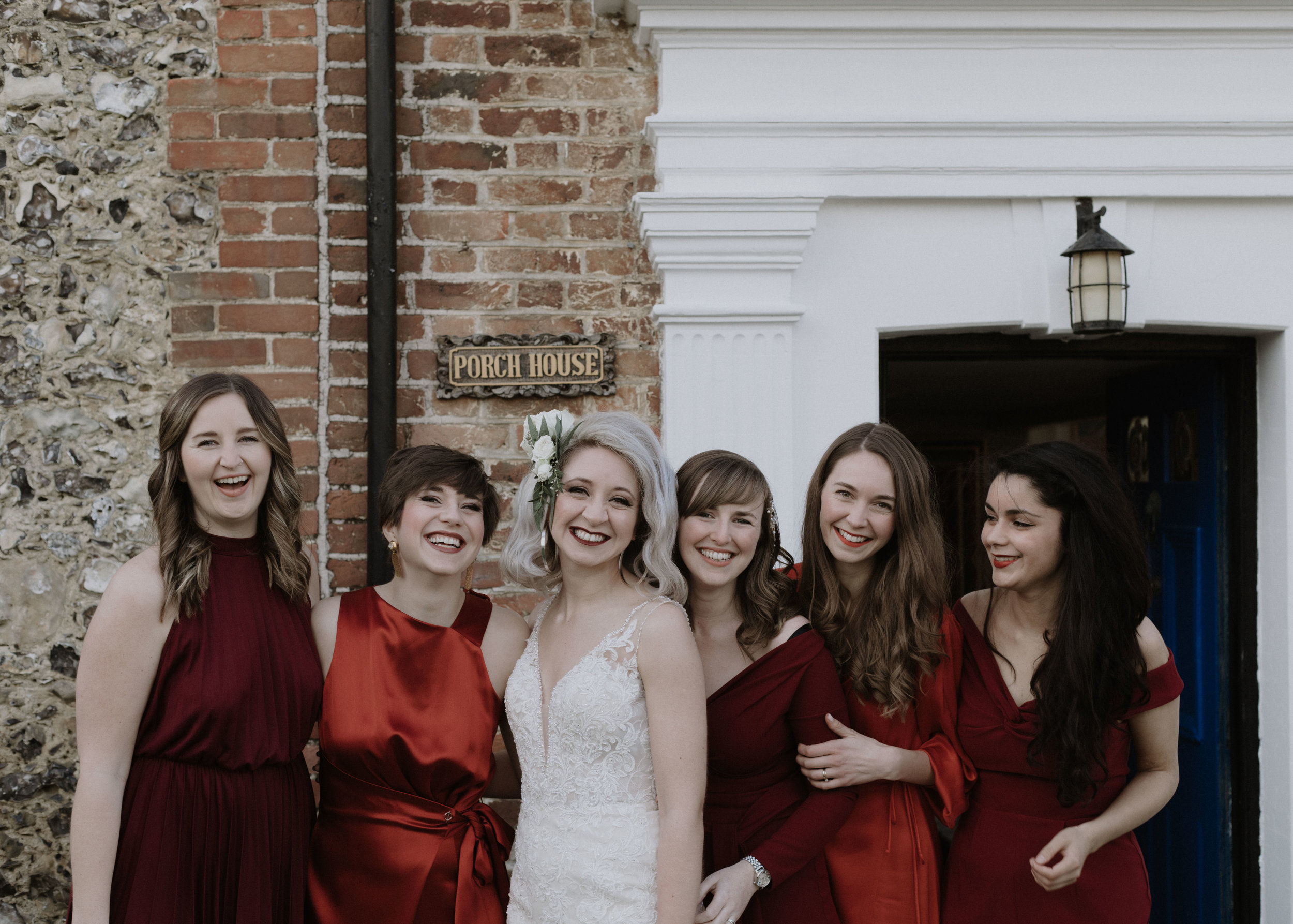 Bridal party - bridesmaids