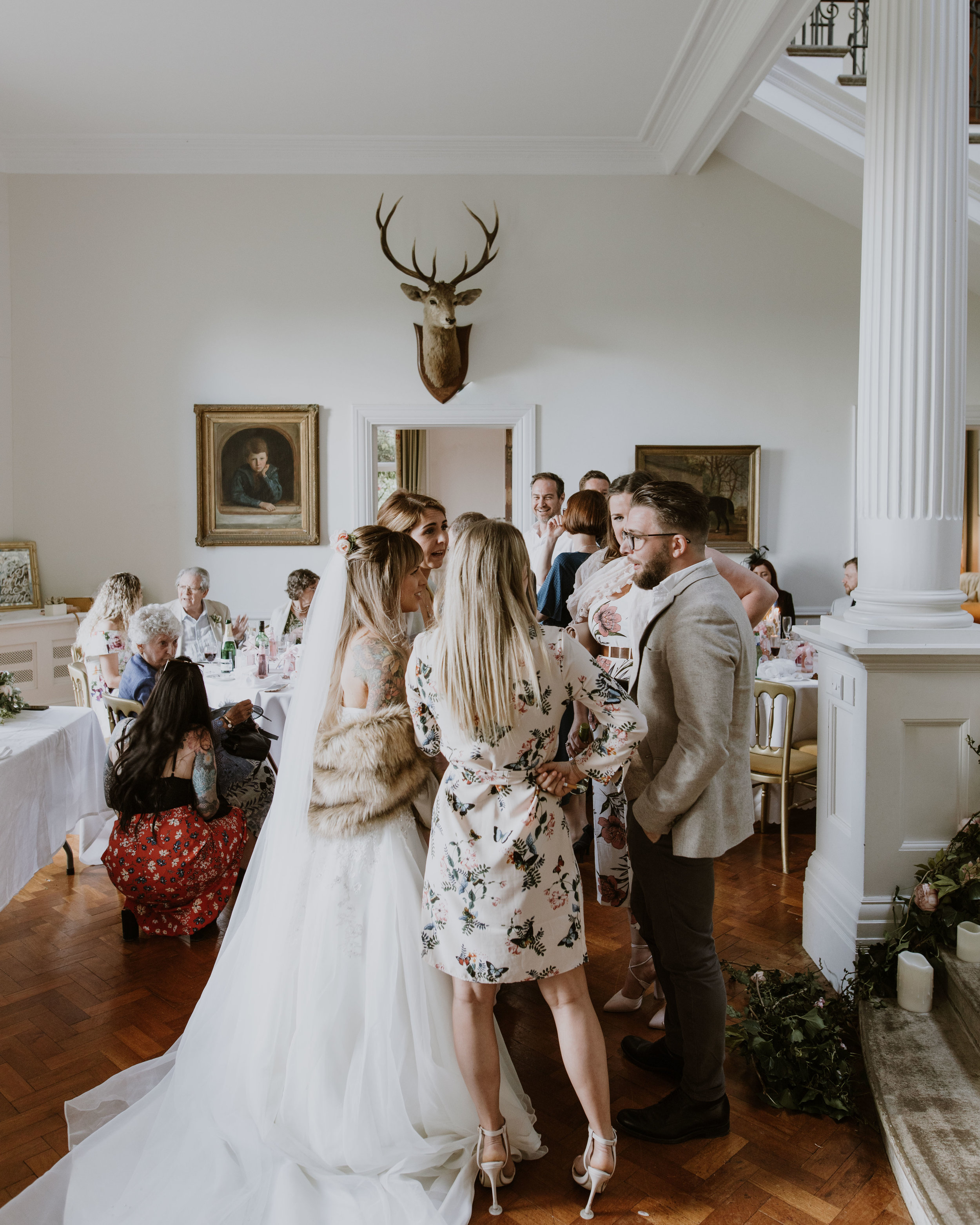 Scorrier House wedding in Cornwall