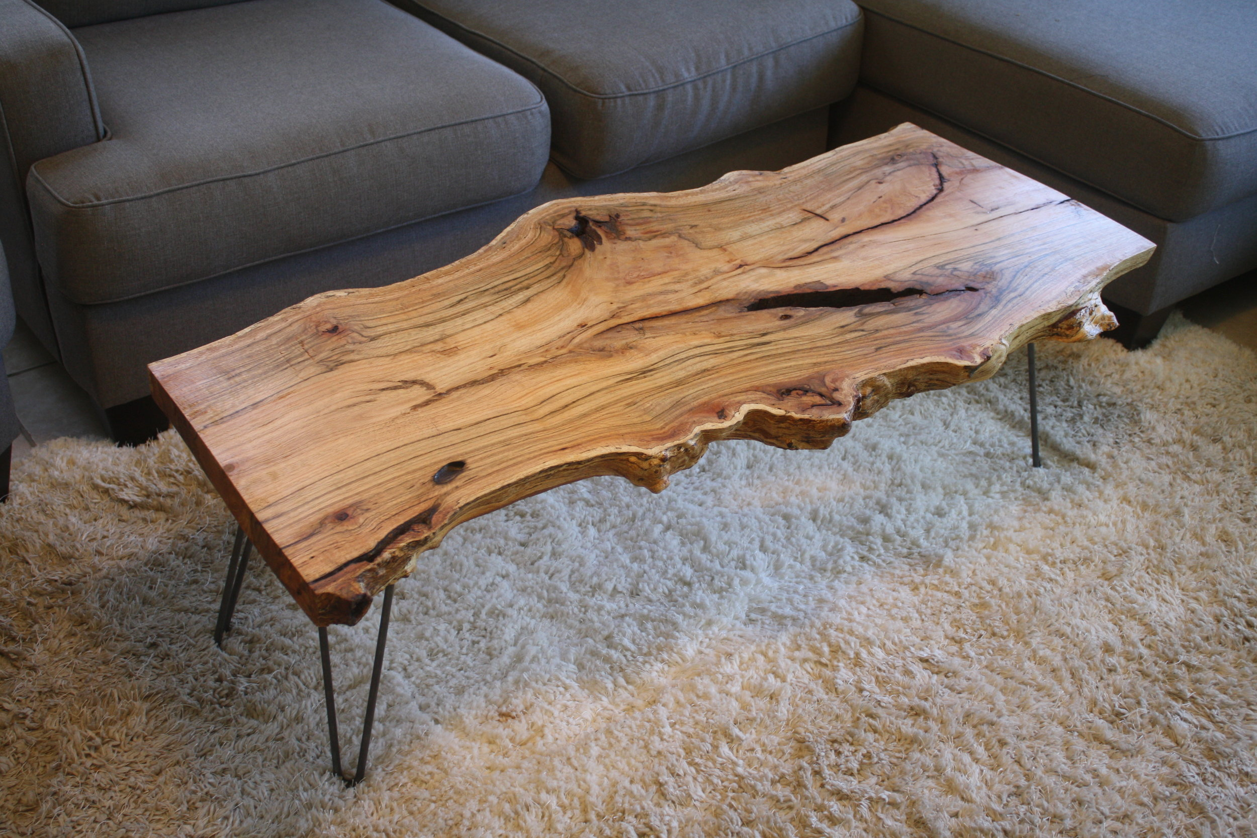 Slab Coffee Tables Isaac Moyer Woodworking