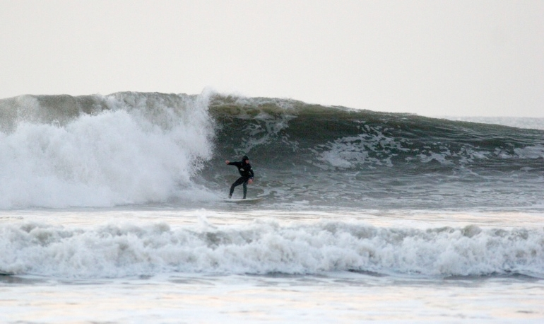 Croyde showing some winter muscle