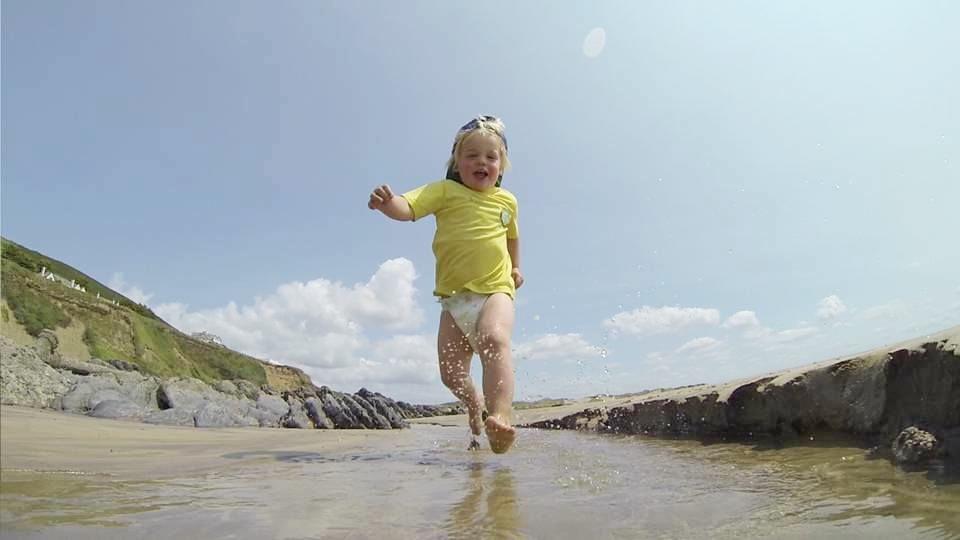 Fun at Saunton beach