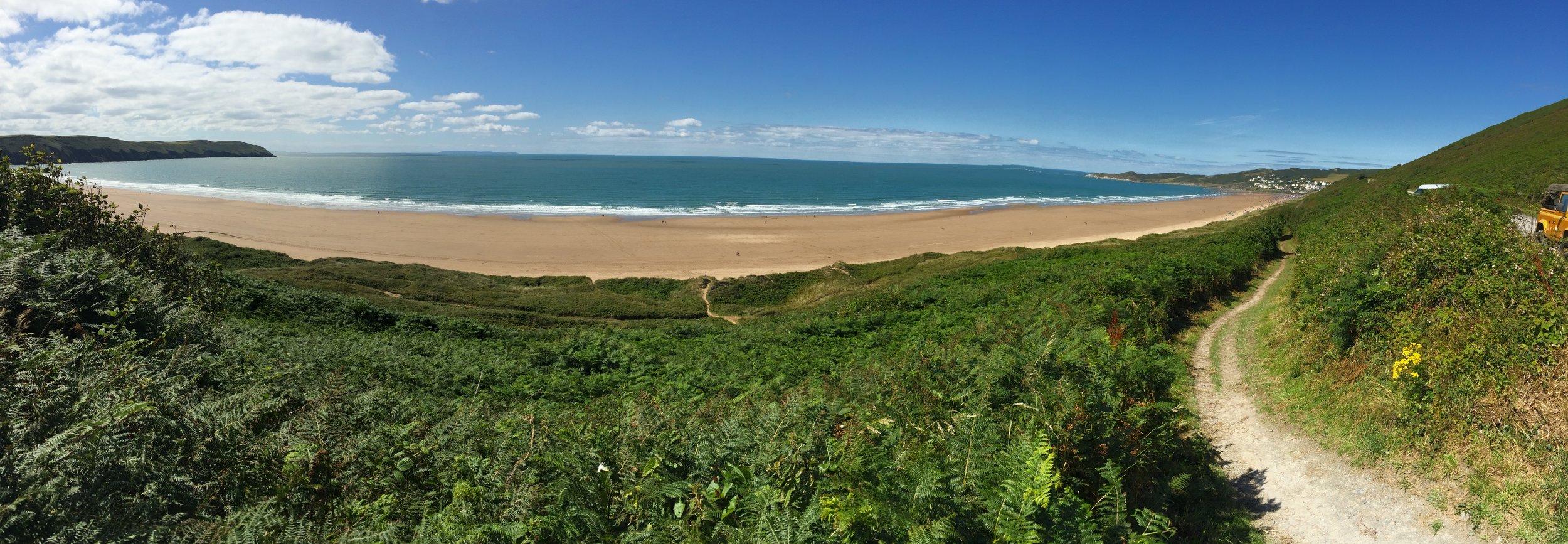 Beautiful unspoilt sandy beaches