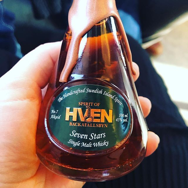 New in the family ..the last star🌟 on the Seven Stars.. and it is shining bright❤️ #spiritsofhven #karlavagnen #wiskey #spirit #hven