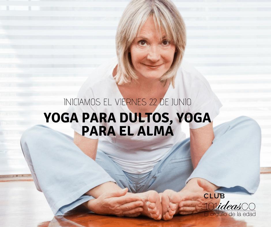 Yoga para adultos 101ideasco, el orgullo de la edad