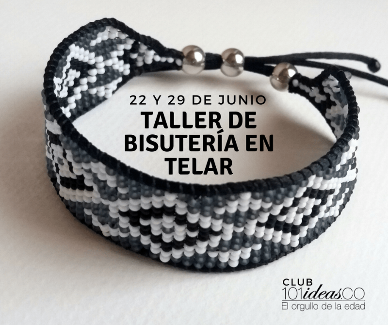 Taller de bisutería en telar en el club de 101ideas.co