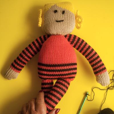 101ideas muñeca de apego dos agujas