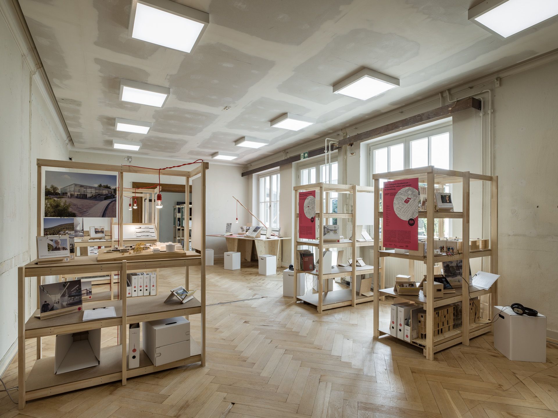Project / Candidate exhibition rooms - © Thilo Ross | IBA Heidelberg