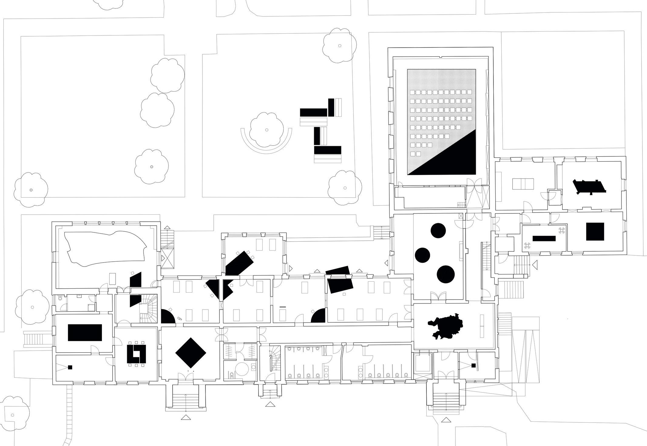 Exhibition Layout plan - © Stiftung Freizeit