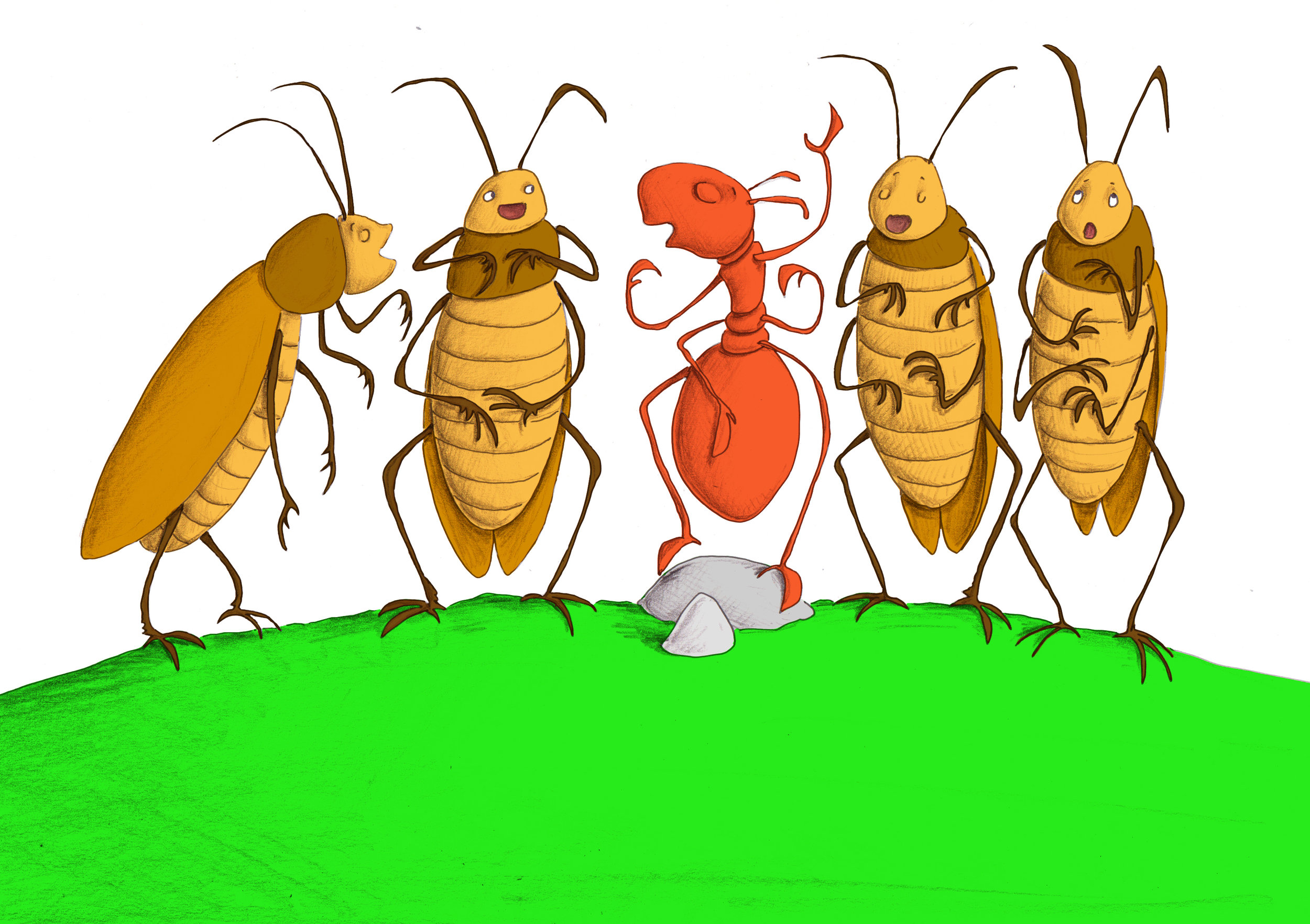 Download image from Little Ant and the Cricket.