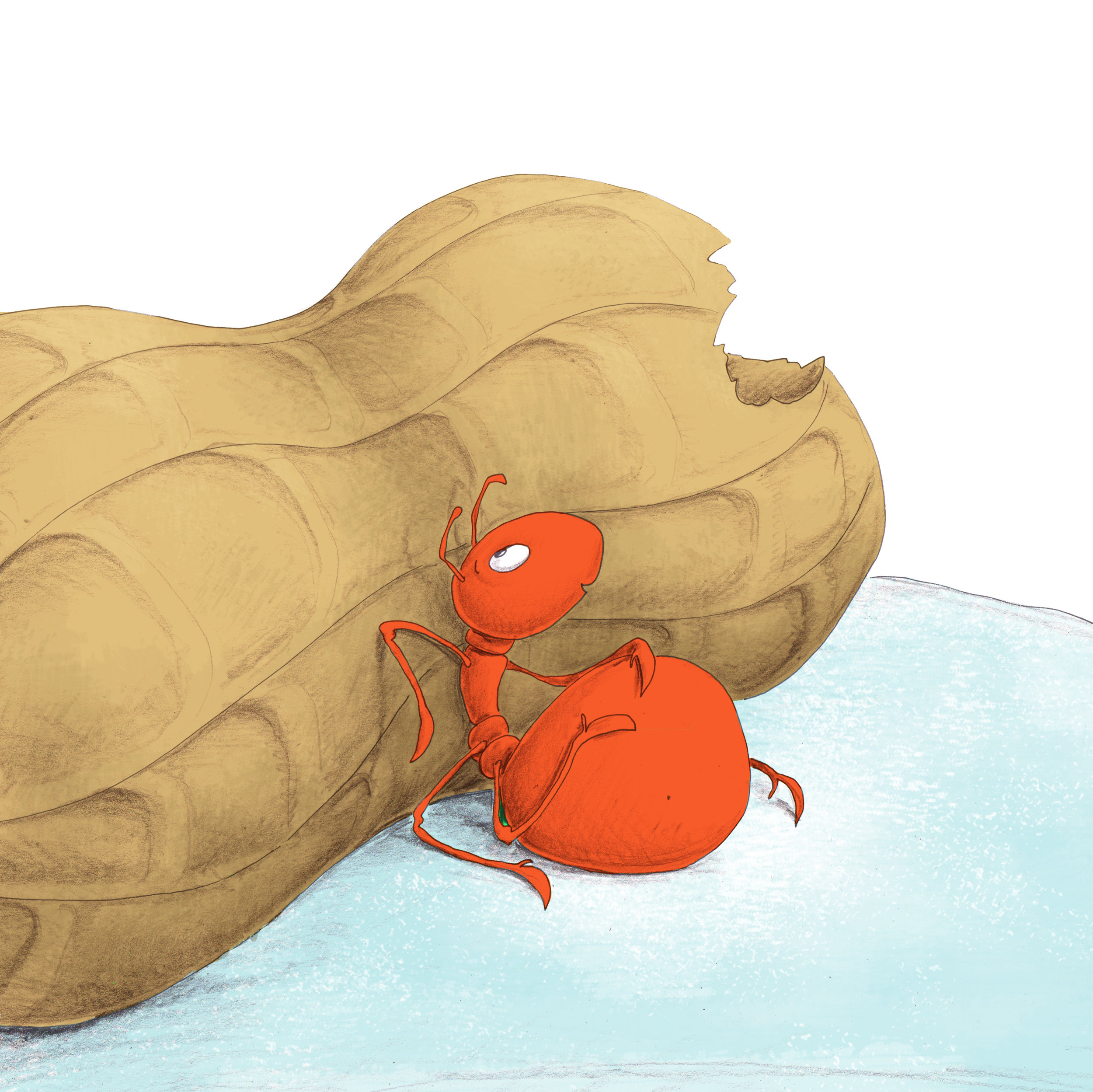 Download image from Little Ant and the Peanut.